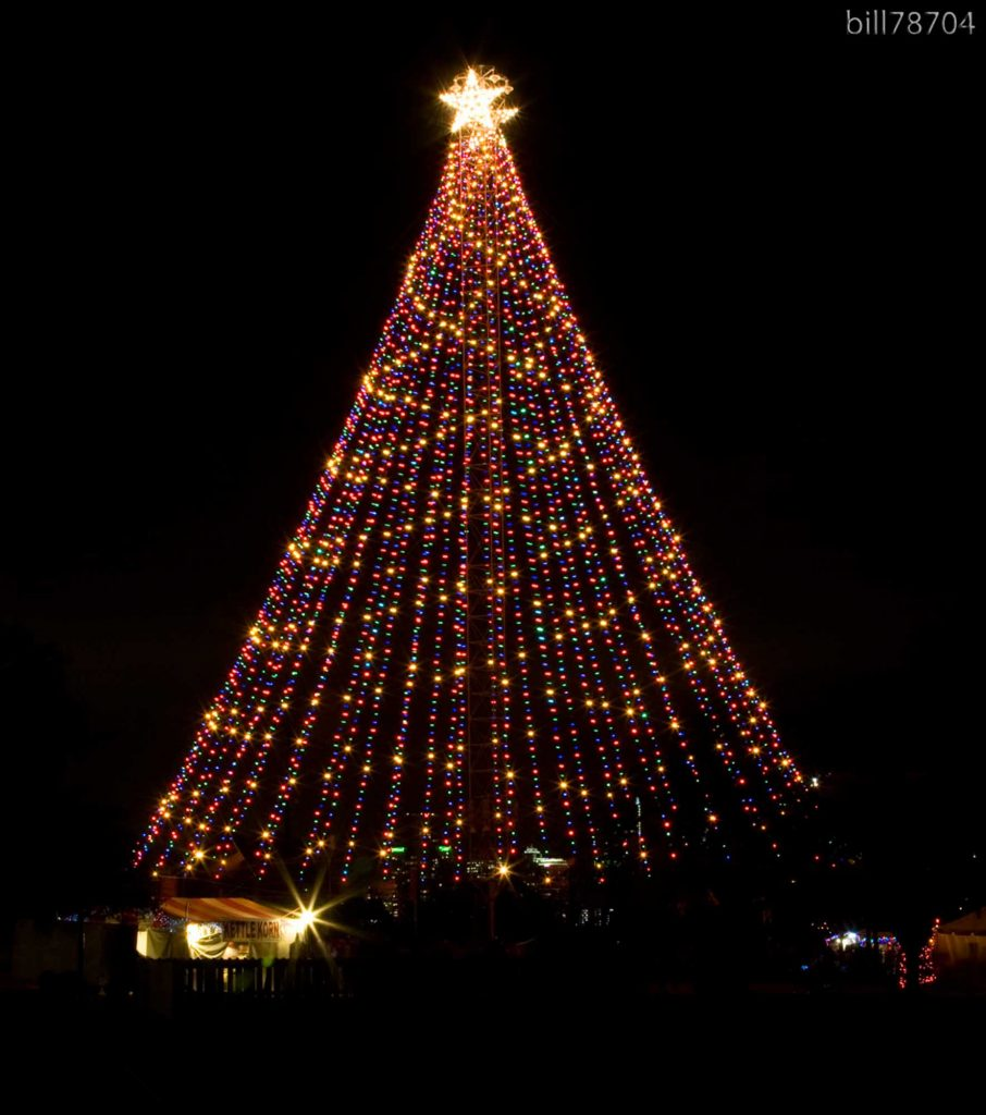 watching Zilker Tree Lighting is one of the best ways to spend Christmas in Austin