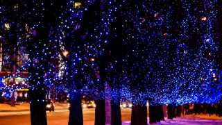 Lighting up the Night at Frisco's Christmas in the Square is one of the ways to enjoy Christmas in Dallas