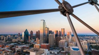 Enjoying the 360-Degree Panoramic View at Reunion Tower is one of the cool things to do in Dallas