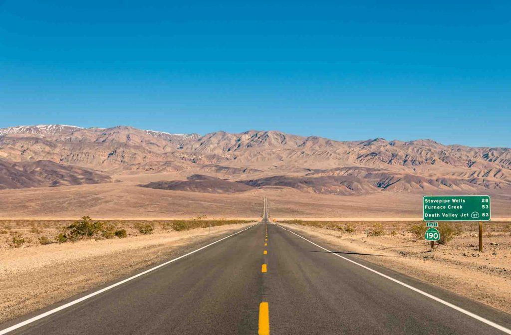 Death Valley National Park is one of the fall vacations in the USA