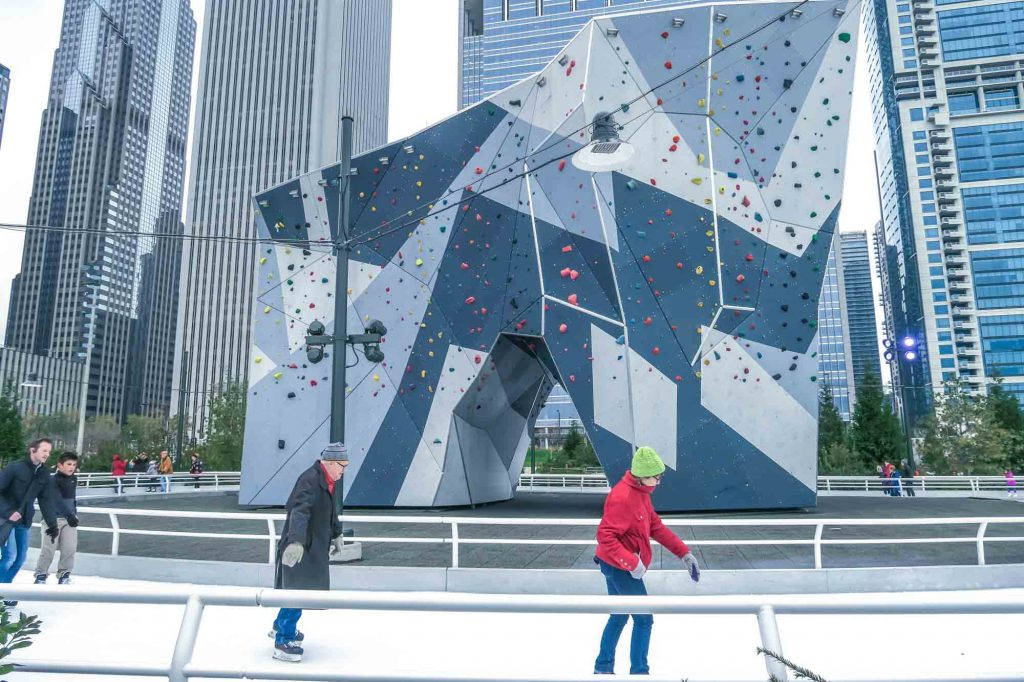 Chicago, Illinois is one of the best winter vacations in the US