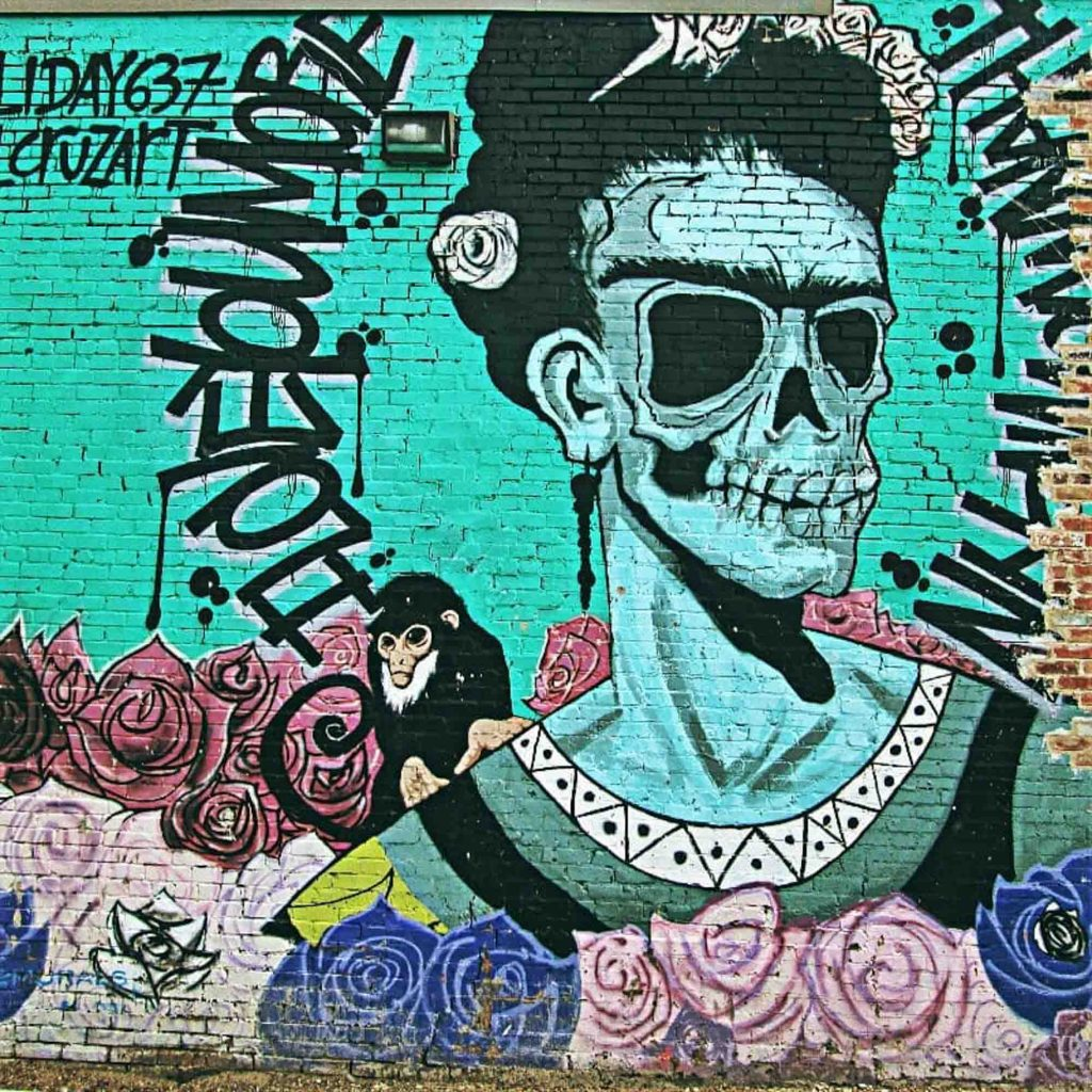 Frida Kahlo mural is one of the best murals in Dallas