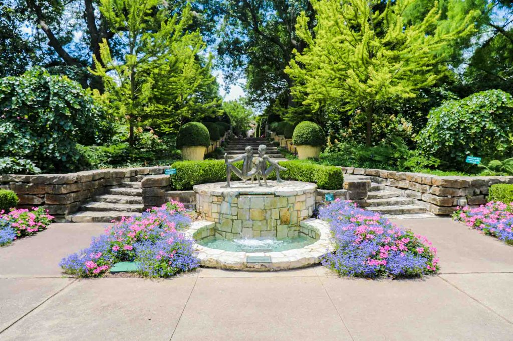 Roaming the Dallas Arboretum & Botanical Garden is one of the cool things to do in Dallas