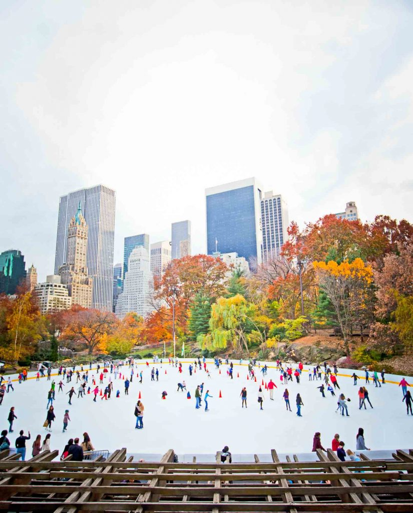 New York City, New York is another winter vacation in the US