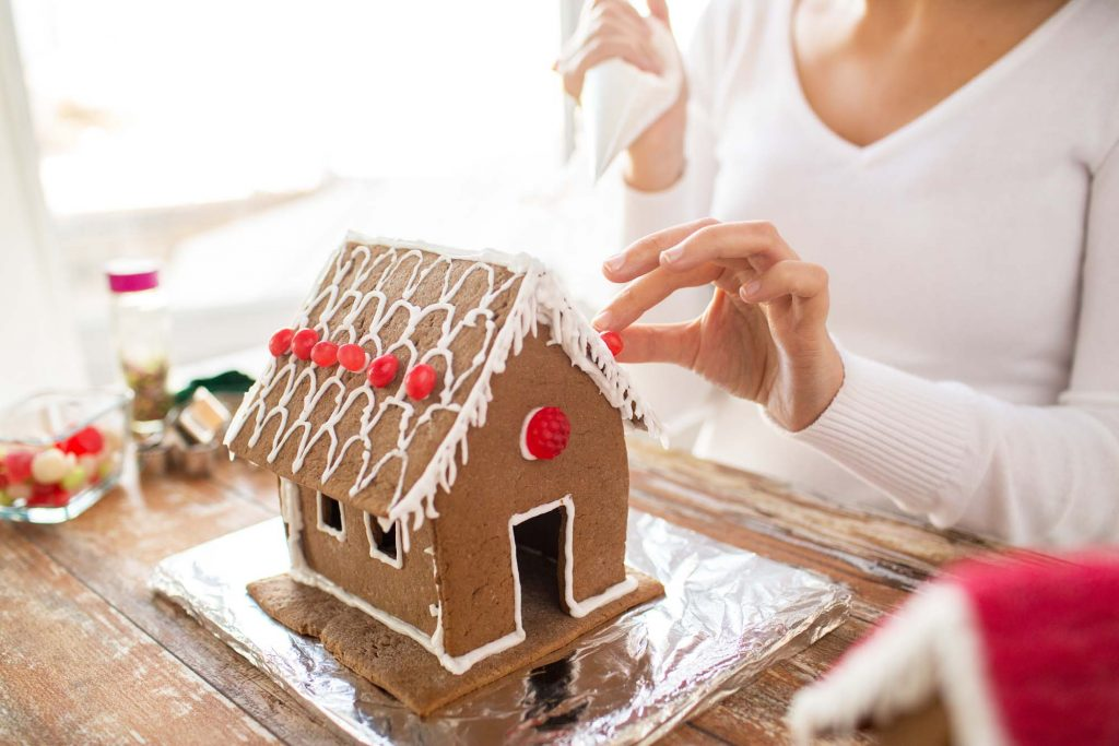 Catching a Gingerbread House Competition is one of the fun ways to spend Christmas in Houston