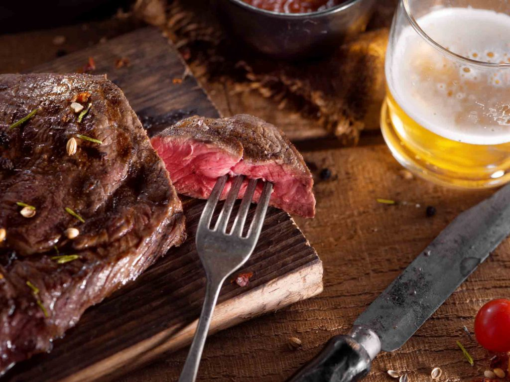 Eating all the steak you can is one of the romantic things to do in Dallas
