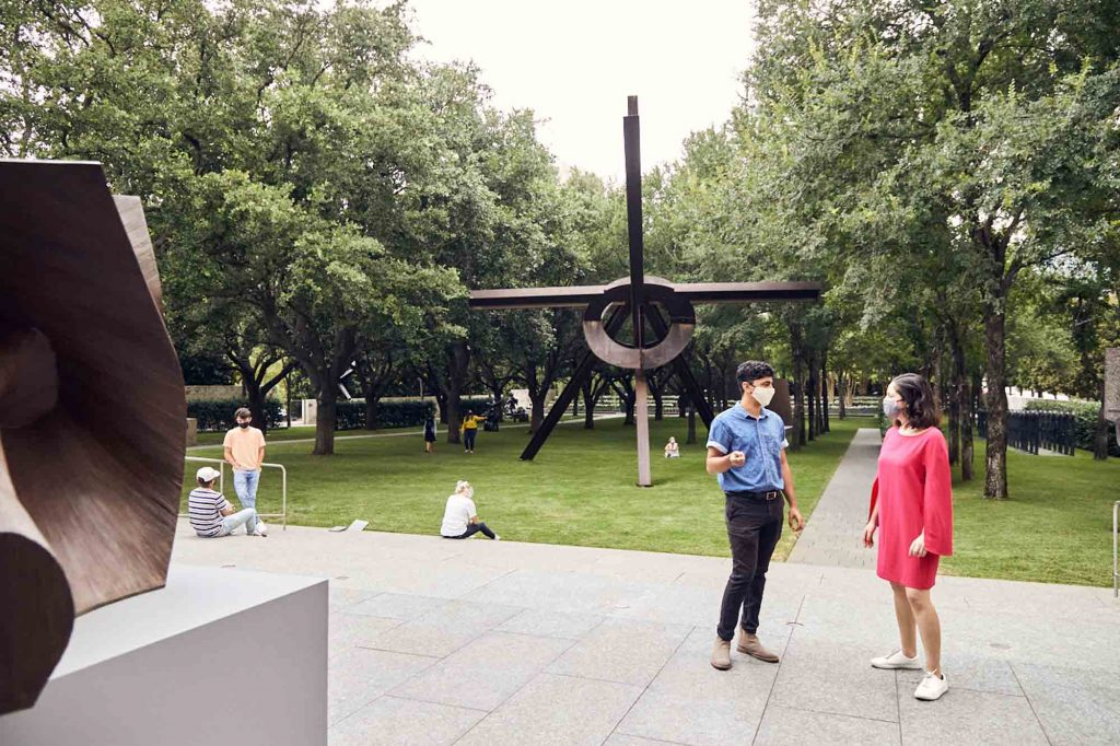 Visiting the Nasher Sculpture Center is one of the best things to do in Dallas