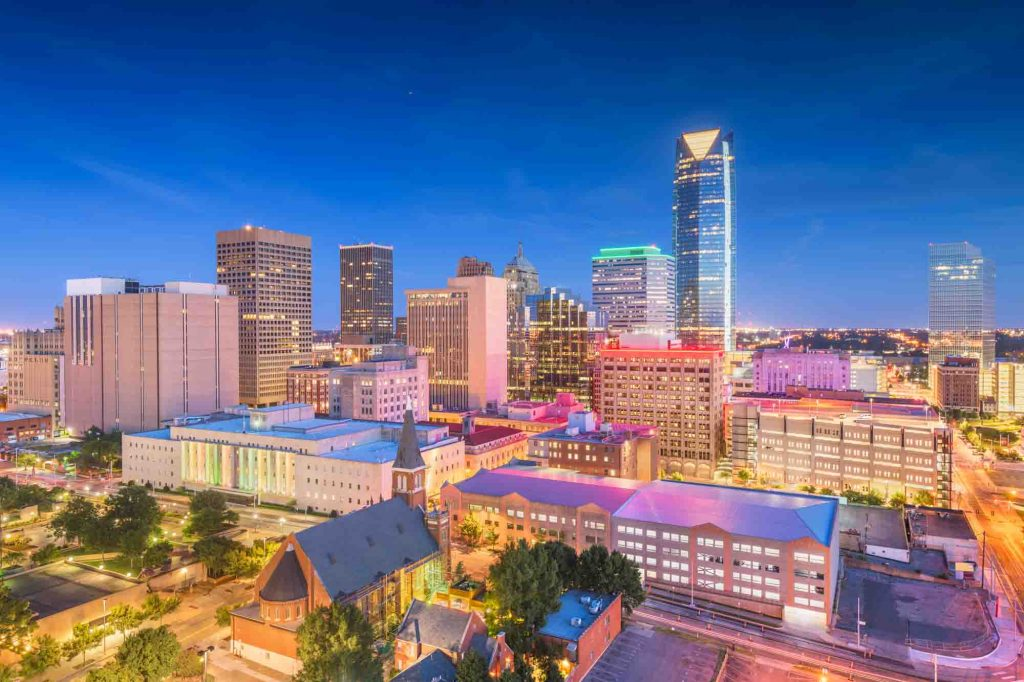 Oklahoma City, Oklahoma is one of the best fall vacations in the USA