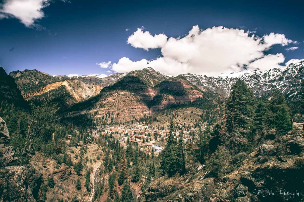 Ouray, Colorado is one of the best fall vacations in the USA