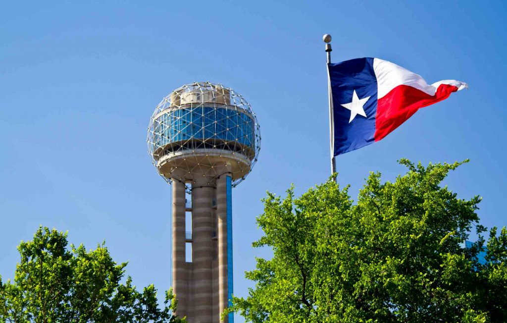 Reunion Tower in Dallas is one of the places to visit on your weekend in Dallas itinerary