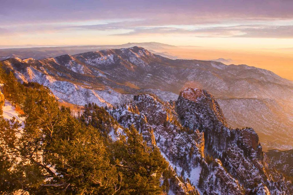 Cibola National Forest, New Mexico is one of the winter vacations in the US