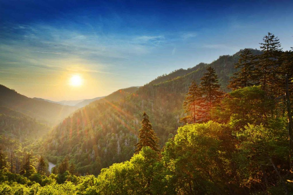 Gatlinburg, Tennessee  is one of the best fall vacations in the USA