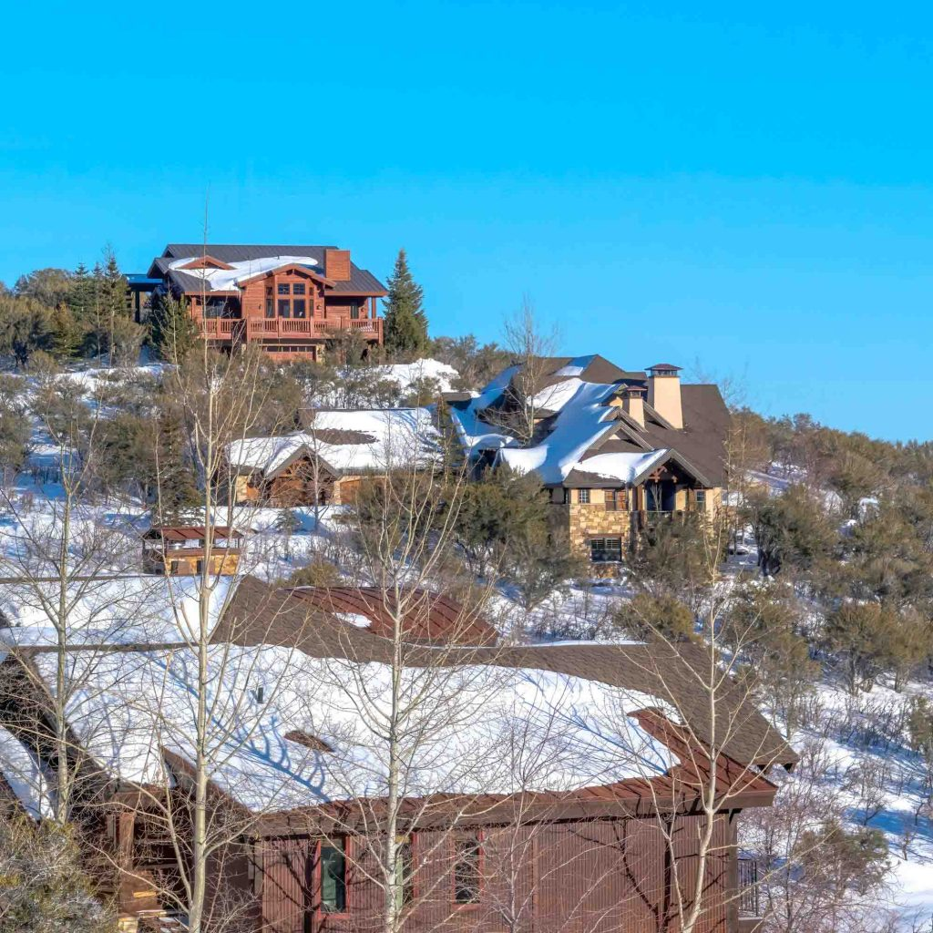 Park City, Utah is one of the winter vacations in the US