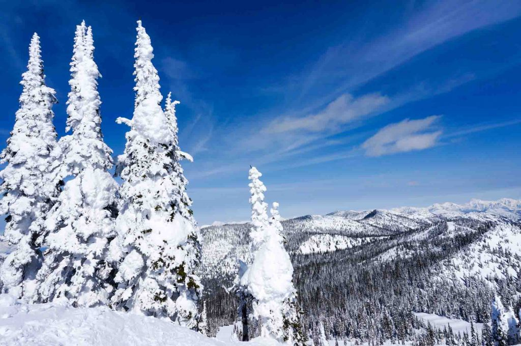 Whitefish, Montana is one of the best winter vacations in the US