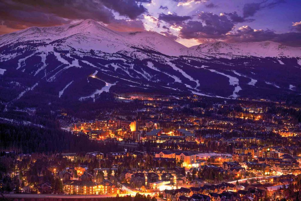 Breckenridge, Colorado is one of the top winter destinations in the US