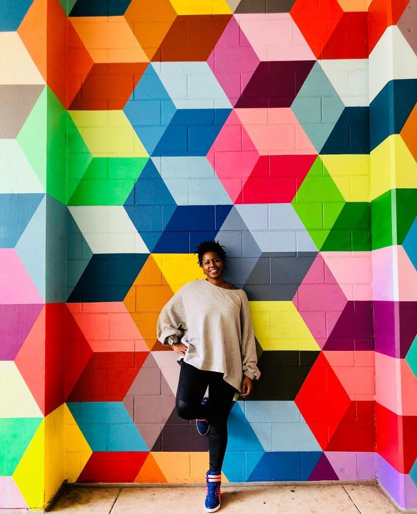Super Deluxe mural is the most colorful Dallas Mural
