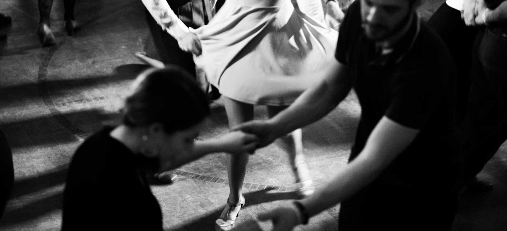 Taking swing dancing lessons at Hermann Hall is one of the romantic things to do in Dallas