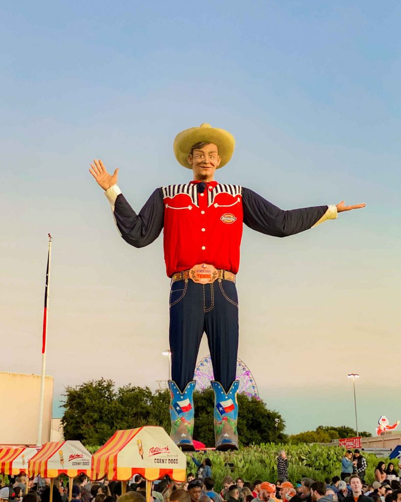 Going for the Texas State Fair is one of the fun things to do in Dallas