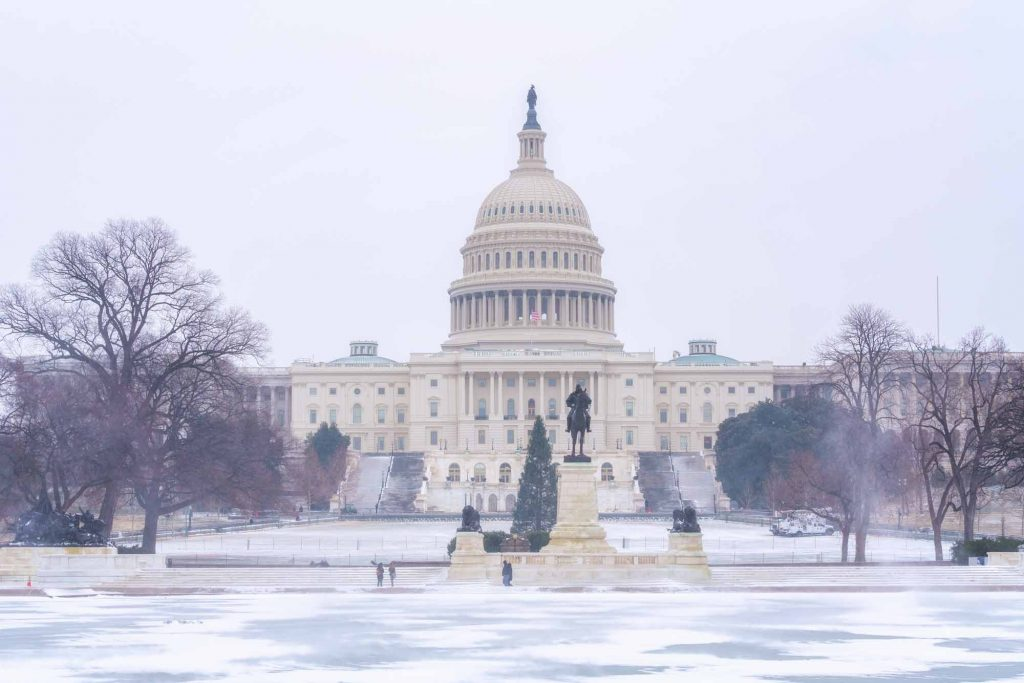 Washington DC is one of the best winter destinations in the USA