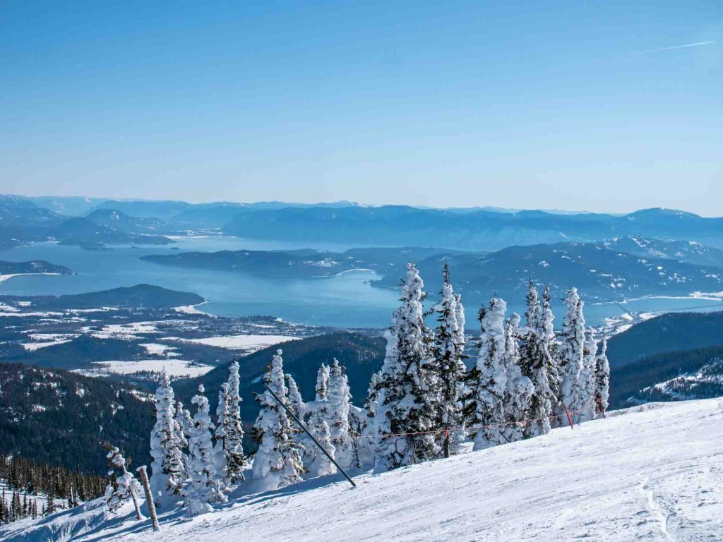 Sandpoint, Idaho is one of the best winter vacations in the US