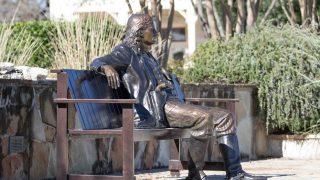Wild Bill Statue in Boerne, a German town in Texas