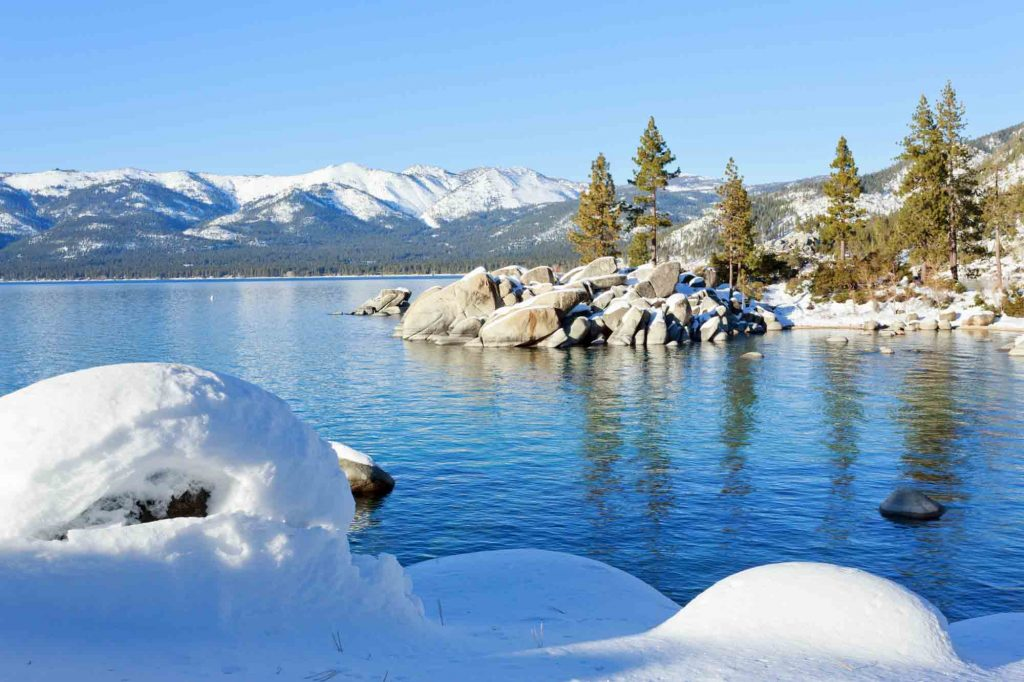 Lake Tahoe is one of the most romantic getaways in the United States