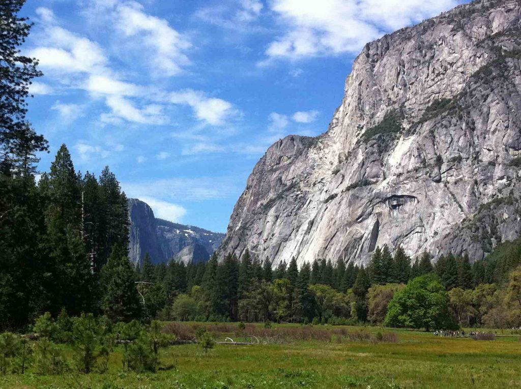 Yosemite, California is one of the best fall vacations in the USA