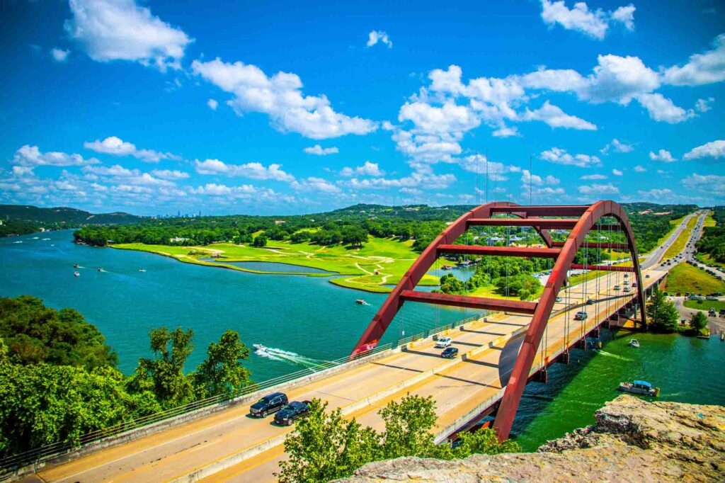 Lake Austin/360 Bridge Overlook is one of the best trails for hiking in Austin