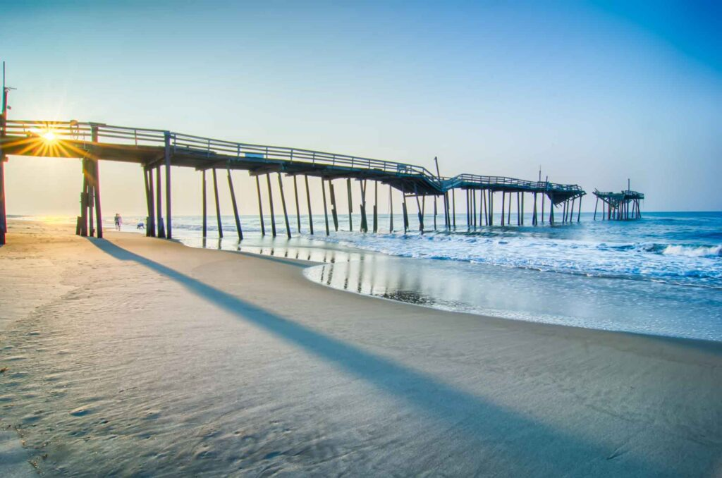 Outer Banks in North Carolina is one of the best spring break destinations in the US