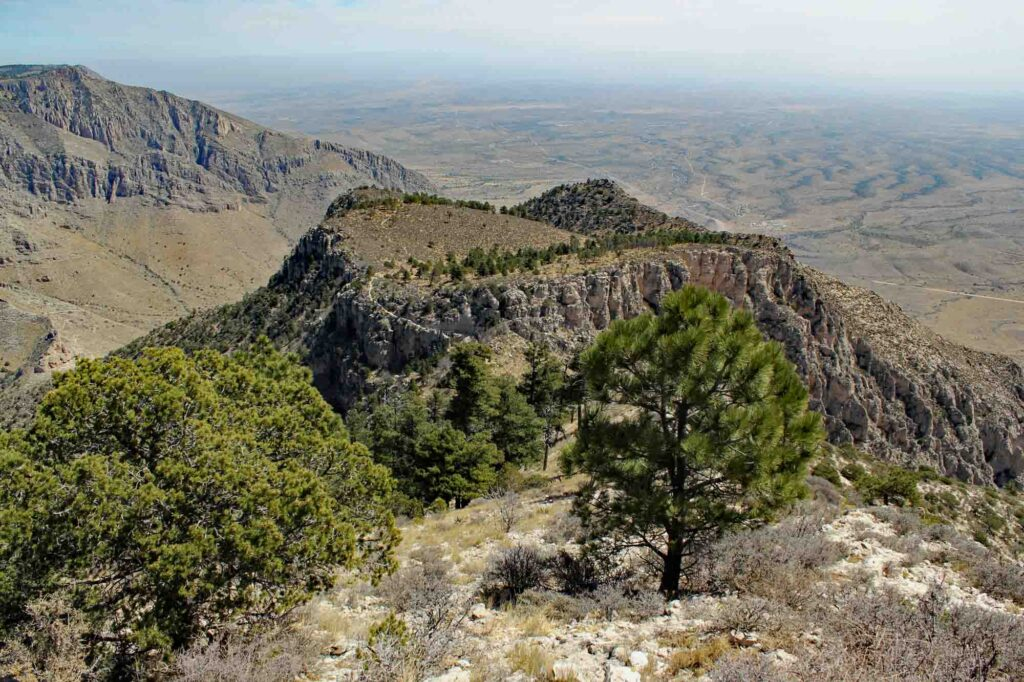 Guadalupe Mountains National Park in Texas; one of the best weekend getaways from Dallas.