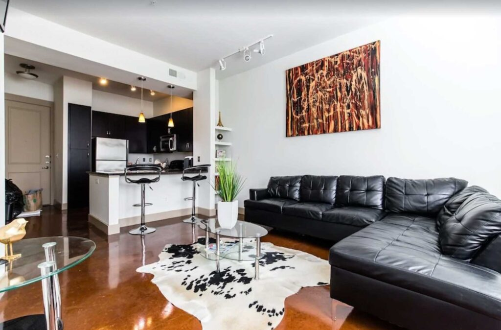This Luxury Condo in Deep Ellum is one of the best Airbnb in Dallas