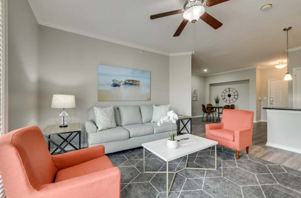 This Modern + Spacious Apartment is one of the best Airbnbs in Dallas