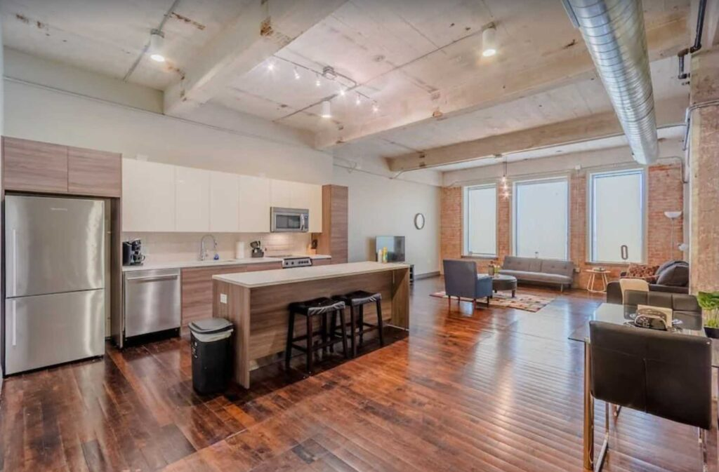 This Modern and Stylish Rental in Downtown is one of the best Airbnbs in Dallas