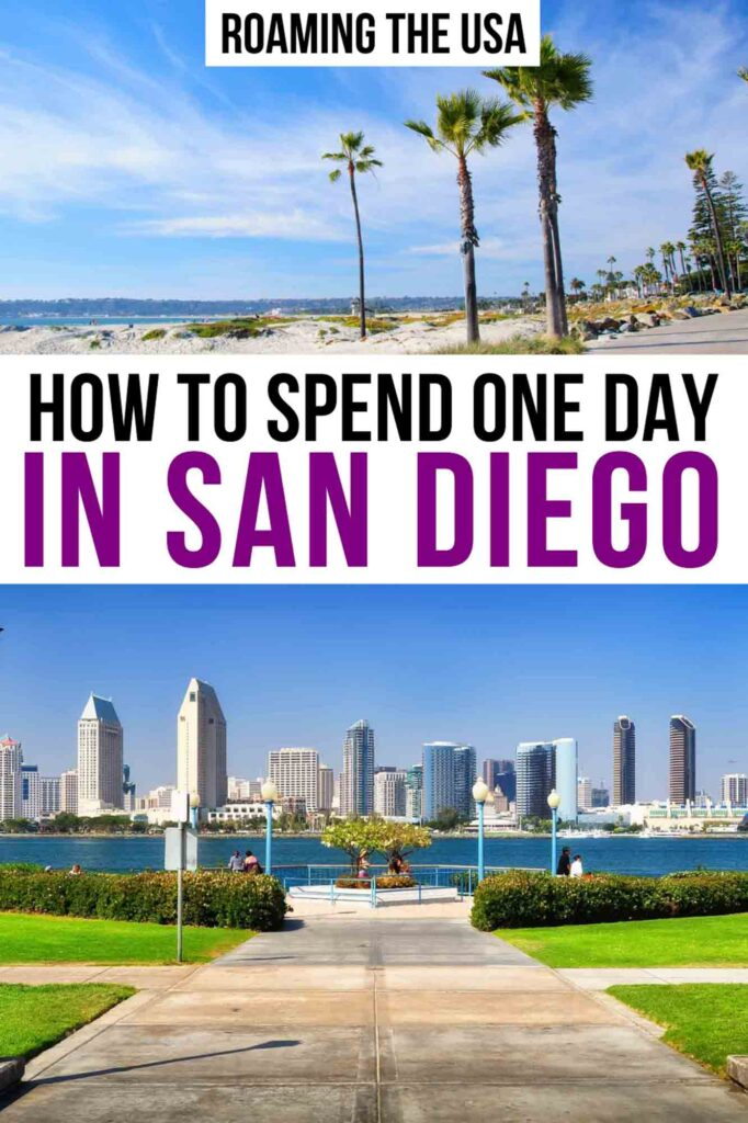 One Day in San Diego Pinterest Graphic