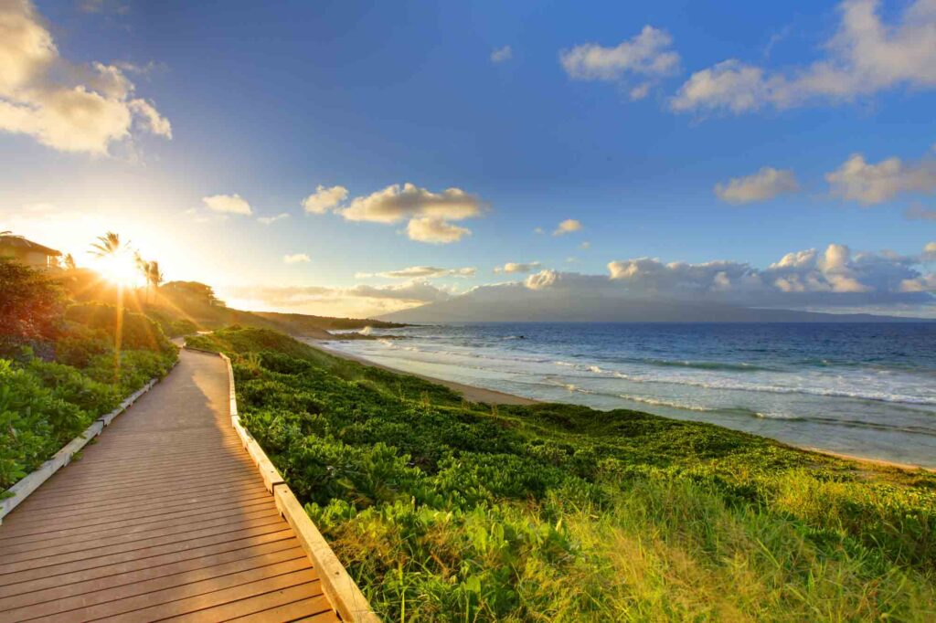 Maui, Hawaii is one of the best spring break destinations in the US