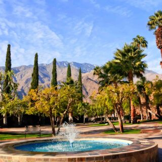 Palm Springs, California is one of the best spring break destinations in the US