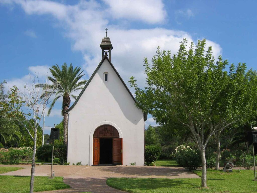 Visiting Schoenstatt Shrine & Stella Maris Chapel is one of the best things to do in Rockport TX