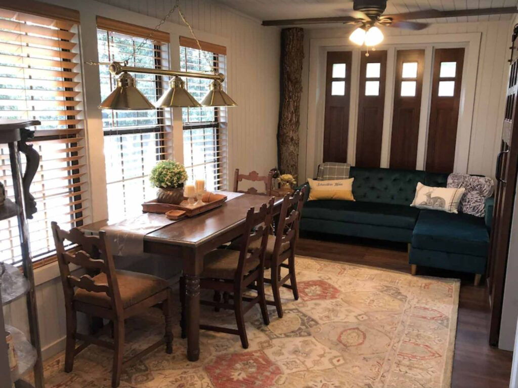 Schwetern Haus at Pecan Grove Estates is one of the best treehouse rentals in Texas