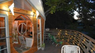 This treehouse Haven in Willis is one of the best treehouse rentals in Texas