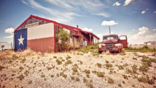This abandoned restaurant is also one of the best road trips in Texas