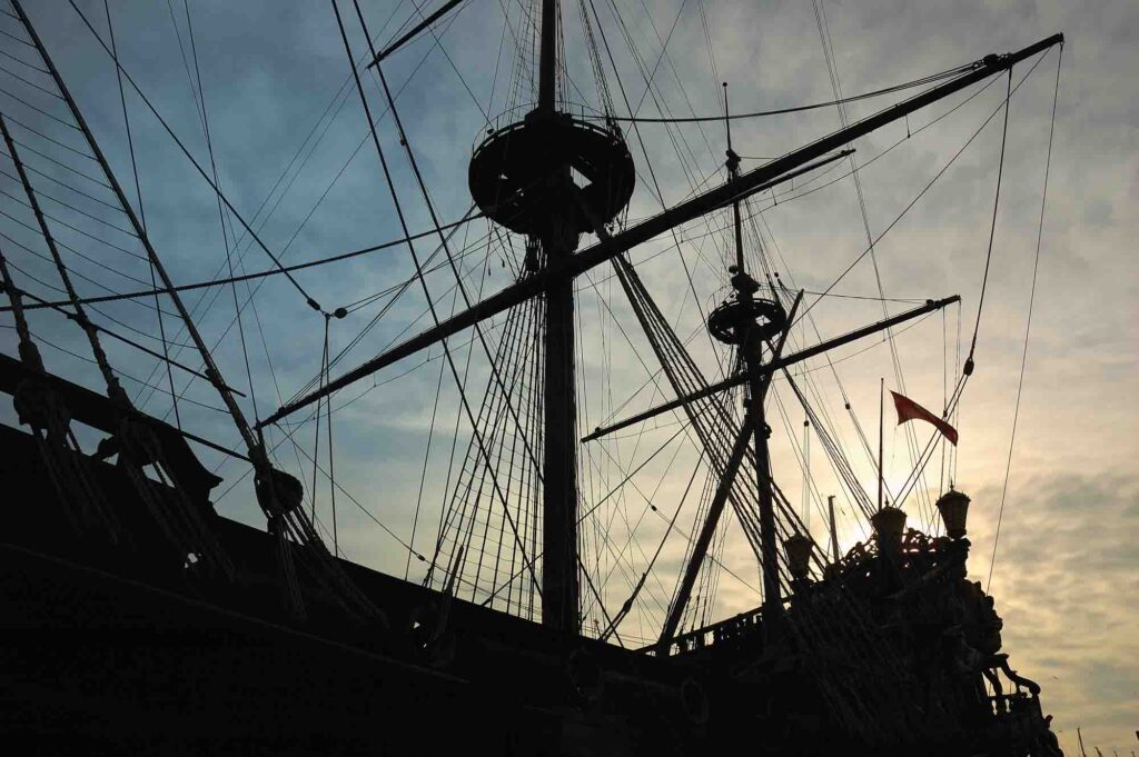 Hunting for treasure on a Black Dragon Pirate Ship Cruise is one of the cool things to do on South Padre Island, TX