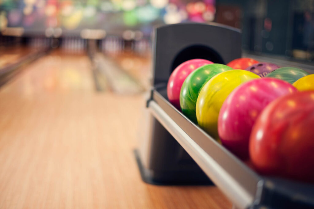 Bowling is one of the romantic things to do in Boston