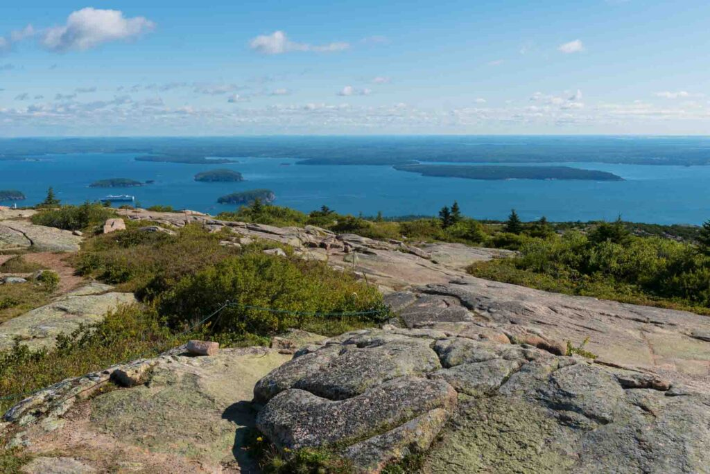 Cadillac South Ridge Trail is one of the best hikes in Acadia National Park