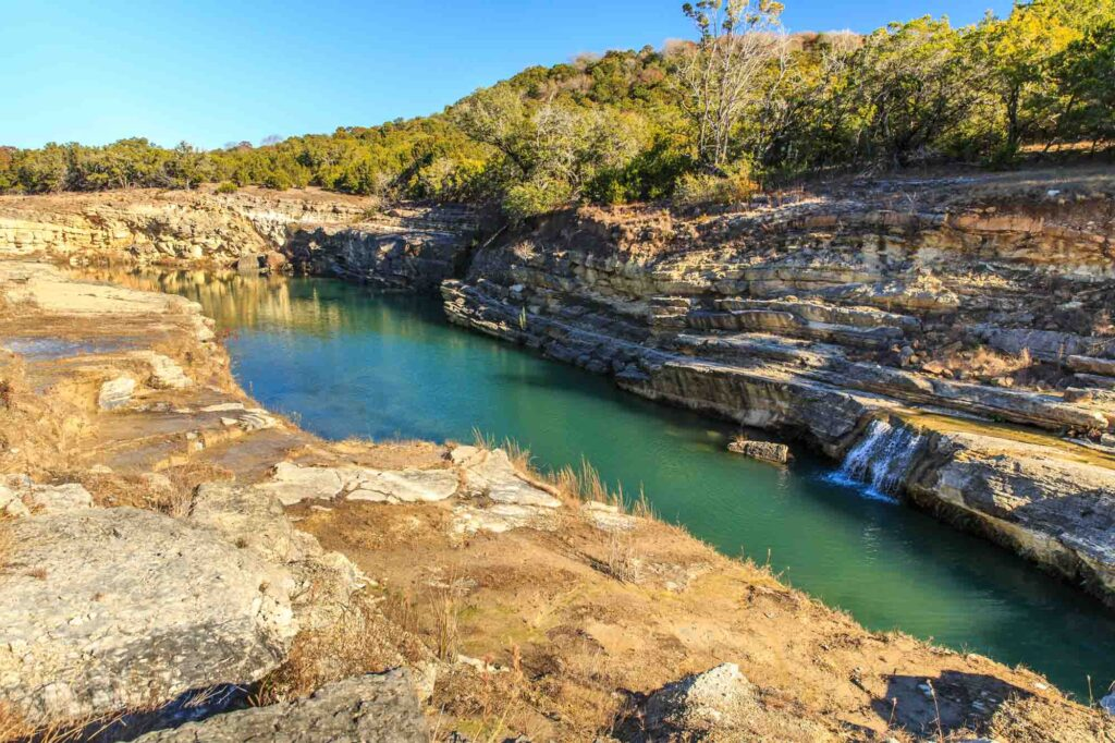 Going Fossil Hunting at Canyon Lake Gorge is one of the fun things to do in Canyon Lake, Texas