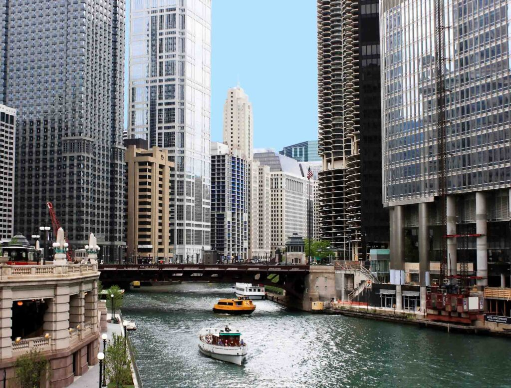 Chicago, Illinois is one of the best spring break destinations in the US