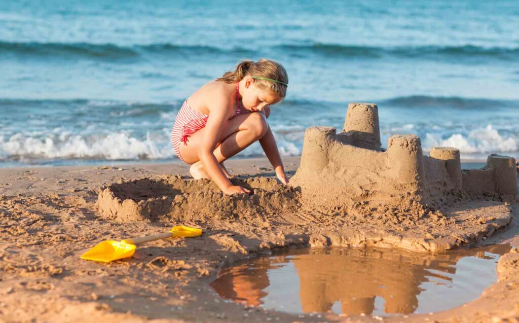 Becoming a Certified Sandcastle Architect is one of the fun things to do on South Padre Island, TX