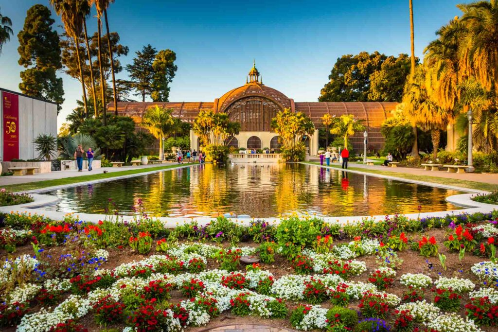 Visiting the Botanical Building is one of the things to do in one day in San Diego
