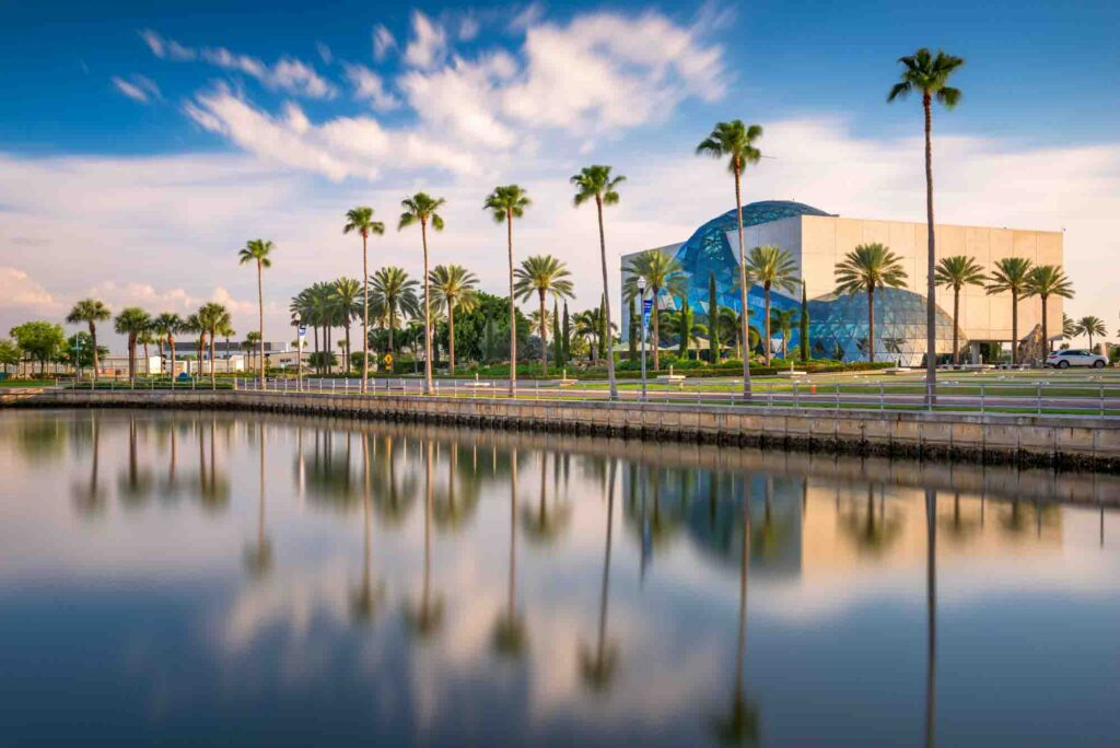 St. Petersburg, Florida is one of the best spring break destinations in the US