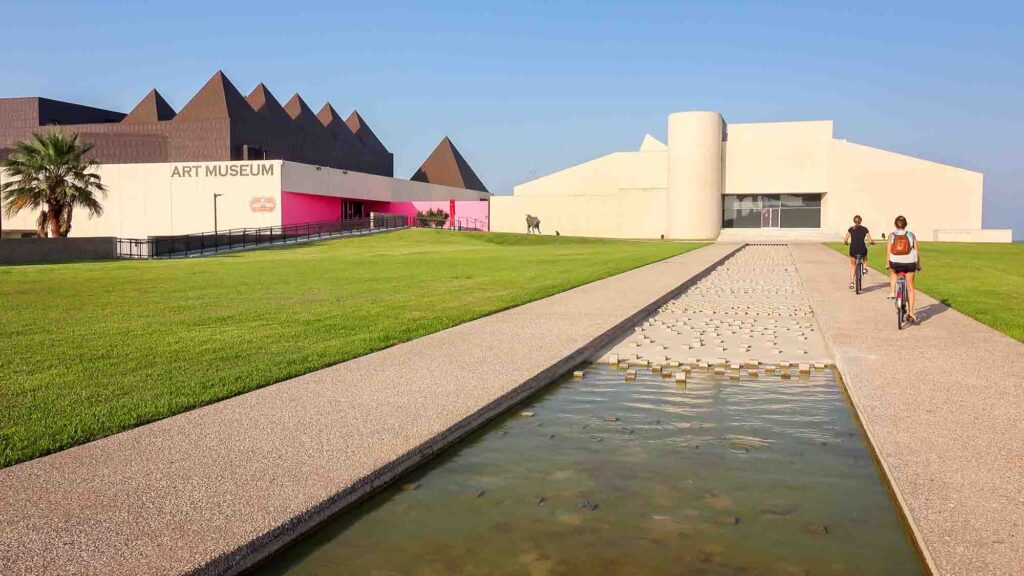 Exploring the Art Museum of South Texas is one of the best things to do in Corpus Christi, TX