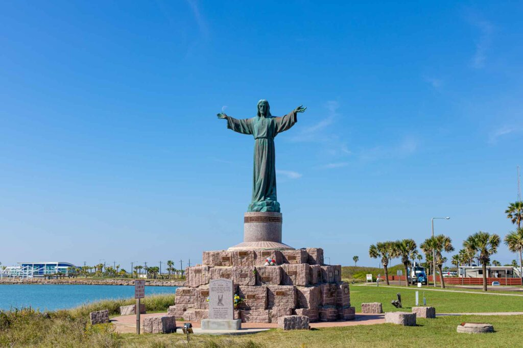 Visiting Cristo de Los Pescadores is one of the best things to do on South Padre Island, TX